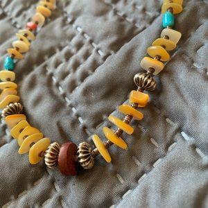 Handmade Native American necklace